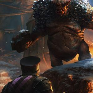Gwent - ice troll - CDProjekt red