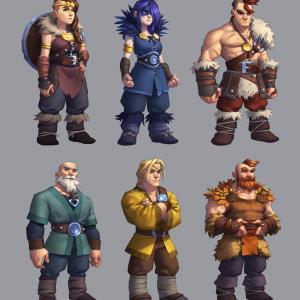 Northgard - bannermen