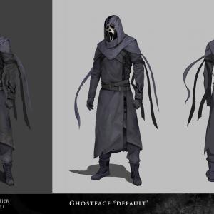 Ghostface default - concept art - behaviour