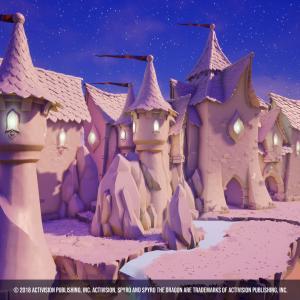 Spyro environment - Activision