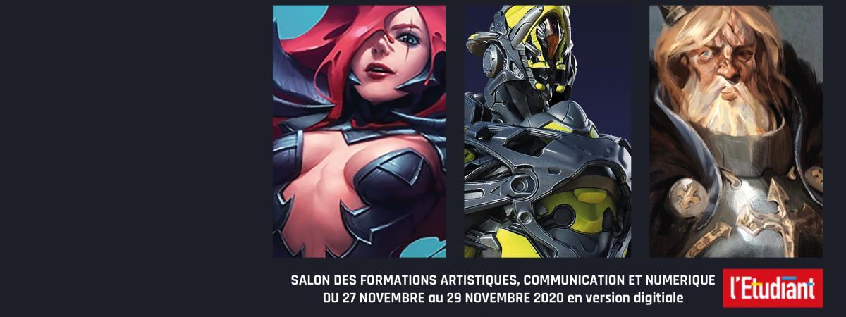 Salon des Formations Artistiques et Numériques 2020
