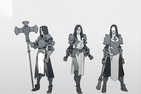 Character Heroïc-Fantasy